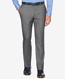 Perry Ellis Portfolio Men's Slim-Fit Performance Stretch Dress Pants