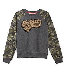 Epic Threads Big Boys Future-Print Sweatshirt, Created for Macy's