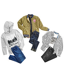 Epic Threads Big Boys Bomber Jacket, T-Shirts & Jeans, Created for Macy's