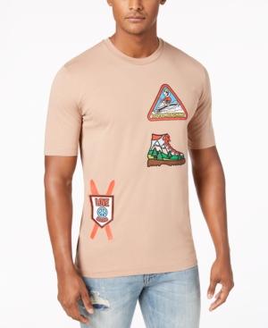 Love Moschino Men's Ski Patch T-Shirt