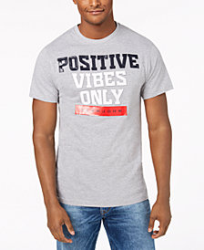 Sean John Men's Positive Vibes Graphic T-Shirt