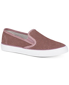 Sperry Women's Seaside Embossed Memory-Foam Fashion Sneakers