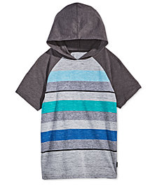 Univibe Big Boys Striped Raglan-Sleeve Hoodie
