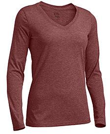 EMS® Women's Techwick Vital Long-Sleeve V-Neck T-Shirt