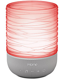 iHome Light & Sound Candle