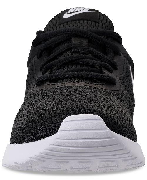 27a7681c13c Nike Women s Tanjun Wide Width (2E) Casual Sneakers from Finish Line ...