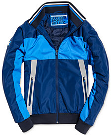Superdry Men's Otis Colorblocked Padded Track Jacket