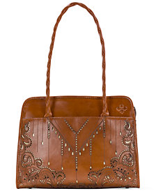 Patricia Nash Laser Cut Paris Satchel
