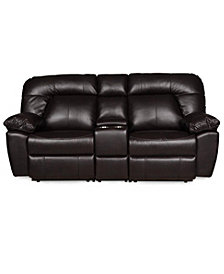 Jackson Manual Reclining Sofa With Console