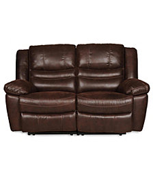 Liam Manual Rocking Reclining Loveseat