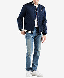 Levi's® Limited: Old School Men's Reversible Bomber Jacket, Created for Macy's