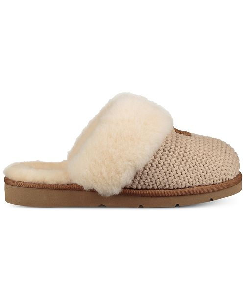28c84d5b709 UGG® Women s Cozy Knit Slippers   Reviews - Slippers - Shoes - Macy s