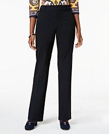 Petite Solid Trousers, Created for Macy's