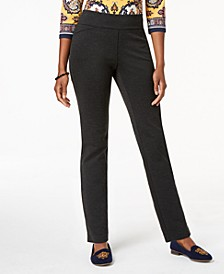 Plus Size Ponté-Knit Pants, Created for Macy's