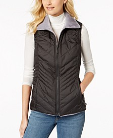Women's Mossbud Insulated Water-Repellent Reversible Vest