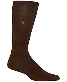 Polo Ralph Lauren Men's Embroidered Trouser Socks