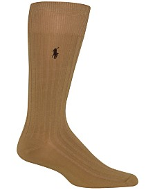 Polo Ralph Lauren Men's Embroidered Trouser Socks