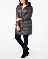 d08dd5920a2 MICHAEL Michael Kors Plus Size Hooded Puffer Coat
