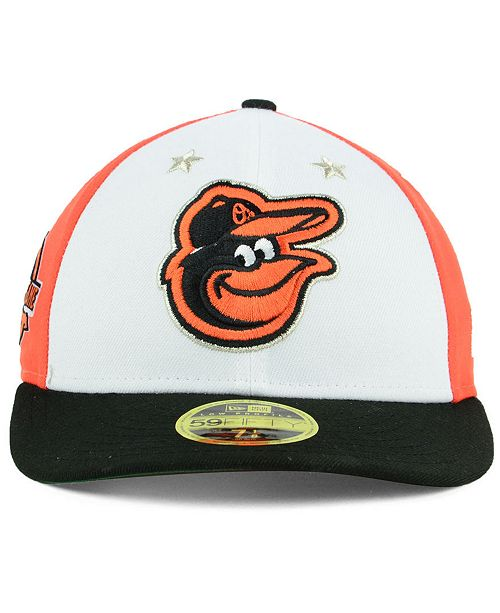 brand new 2ae4d 4cd00 ... New Era Baltimore Orioles All Star Game Patch Low Profile 59FIFTY  Fitted Cap 2018 ...