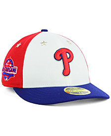 New Era Philadelphia Phillies All Star Game Patch Low Profile 59FIFTY Fitted Cap 2018