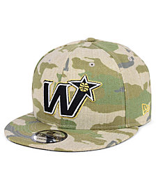 New Era Washington Wizards Combo Camo 9FIFTY Snapback Cap