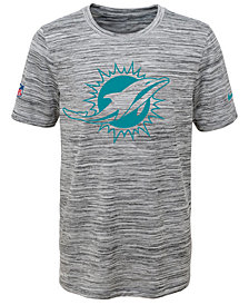 Nike Miami Dolphins Velocity Legend Travel T-Shirt, Big Boys (8-20)