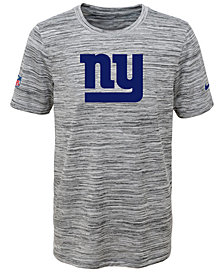 Nike New York Giants Velocity Legend Travel T-Shirt, Big Boys (8-20)