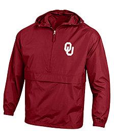 Champion Men's Oklahoma Sooners Packable Windbreaker Jacket