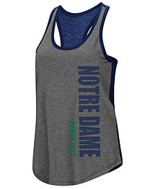 Colosseum Women's Notre Dame Fighting Irish Share It Racerback Tank