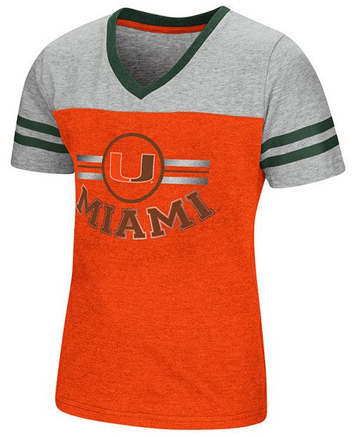 size 40 ddbf8 59e5f Miami Hurricanes Pee Wee T-Shirt, Girls (4-16)