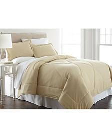 Micro Flannel® King Solid Color Comforter Mini Set