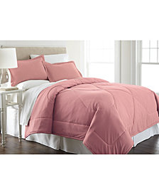 Micro Flannel® Twin Solid Color Comforter Mini Set