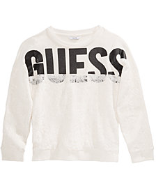 GUESS Big Girls Logo Lace Sweatshirt