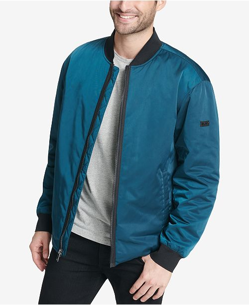 09ec5f26 DKNY Men's Utility Bomber Jacket, Created for Macy's & Reviews ...