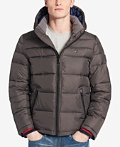 Tommy Hilfiger Men s Big   Tall Quilted Hooded Puffer Jacket 95085fc48