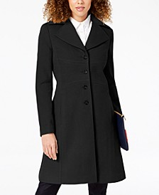 Petite Single-Breasted Peacoat, Created for Macy's
