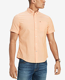 Tommy Hilfiger Men's Wain Wright Solid Custom Fit Shirt, Created for Macy's