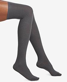 HUE® Ribbed Over-The-Knee Socks