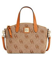 94a76f5b903 Dooney   Bourke Signature Quilt Ruby Small Bag