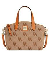8fc381b7aa34 Dooney   Bourke Signature Quilt Ruby Small Bag