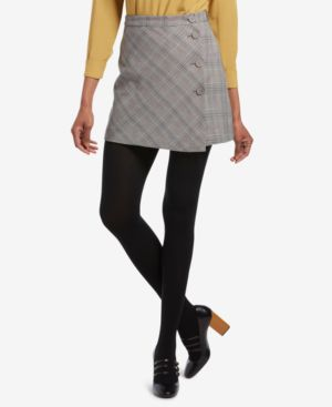 HUE Brushed Sweater Tights in Black