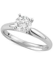 Solitaire Engagement Ring (3/4 ct. t.w.) in 14k White Gold