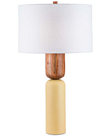 Nova Lighting Apricot Totem Table Lamp