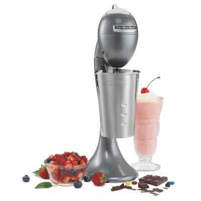Chrome Hamilton Beach Milkshake Drink Mixer Machine Milk Shake Maker Blender