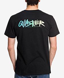 Quiksilver Men's Rough Script Logo Graphic T-Shirt