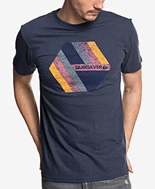Quiksilver Men's Retro Right Logo Graphic T-Shirt