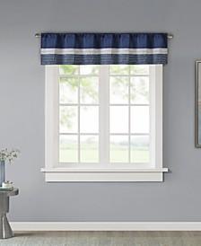 "Amherst Colorblock 50"" x 18"" Window Valance"