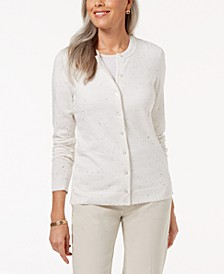 Petite Button Sweater, Created for Macy's