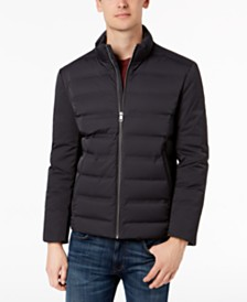 Calvin Klein Men's Slim-Fit Seamless Puffer Coat