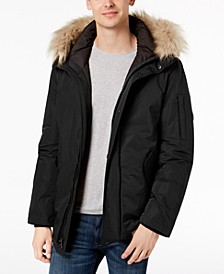 Men's Snorkel Jacket with Faux-Fur Trim